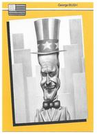 Illustrateur Bernard Veyri Caricature Politique USA Georges Bush - Veyri, Bernard