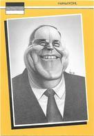 Illustrateur Bernard Veyri Caricature Politique Germany Allemagne Helmut Kohl - Veyri, Bernard