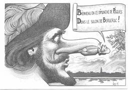 Illustrateur Bernard Veyri Caricature Salon De Bergerac 1991 - Veyri, Bernard