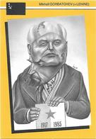 Illustrateur Bernard Veyri Caricature Politique URSS Lenine Mikhail Gorbatchev - Veyri, Bernard
