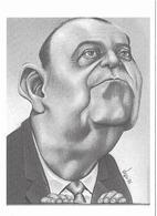 Illustrateur Bernard Veyri Caricature Politique Raymond Barre - Veyri, Bernard