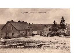 AVOUDREY  (Doubs). - La Fromagerie. - RARE. Etat Neuf. Voir Scan. - Other Municipalities