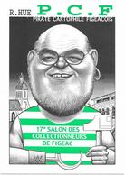Illustrateur Bernard Veyri Caricature Politique Robert Hue Salon De Figeac PCF - Veyri, Bernard