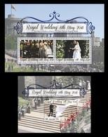 Aitutaki 2018 Mih. 999/1001 (Bl.913/14) Royal Wedding. Prince Harry And Meghan Markle MNH ** - Aitutaki