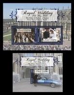 Tonga (Niuafo'ou) 2018 Mih. 672/74 (Bl.78/79) Royal Wedding. Prince Harry And Meghan Markle MNH ** - Tonga (1970-...)