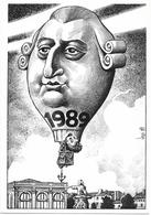 Illustrateur Bernard Veyri Caricature 1989 Année Du Bicentenaire De La Revolution - Veyri, Bernard