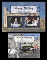 Tonga 2018 Mih. 2186/88 (Bl.118/19) Royal Wedding. Prince Harry And Meghan Markle MNH ** - Tonga (1970-...)