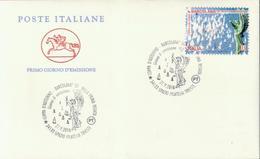 Italien 'Barcolana, Leuchtturmspitze Triest' / Italy 'Barcolana, Trieste Lighthouse Top' FDC 2018 - Lighthouses