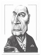 Illustrateur Bernard Veyri Caricature Politique Francois Mitterrand - Veyri, Bernard