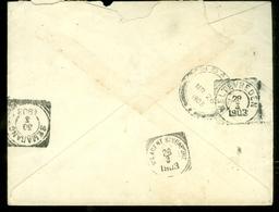 BRIEF EGYPTE Uit 1903 Via N-I.AGENT SINGAPORE Naar SEMARANG * NED. INDIE  * MONOD De FROIDEVILLE De RAVALLET  (10.456u) - 1866-1914 Khedivaat Egypte