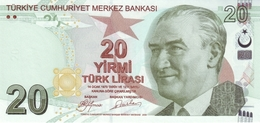 Turkey P.224a 20 Lirasi 2009   Unc - Turchia