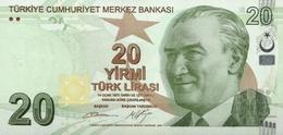 Turkey P.224b 20 Lirasi 2009   Unc - Turchia