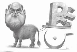 Illustrateur Bernard Veyri Caricature Politique Robert Hue - Veyri, Bernard