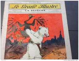 1905 LA RÉVOLUTION RUSSIE / FÊTE DE LA MUTUALITÉ / UNE PRINCESSE EN EXIL ( MALGACHE ) / LE GRAND ILLUSTRÉ - Newspapers