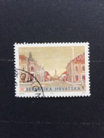 Croatia Used 1995 Croatian Cities Bjelovar - Croatia