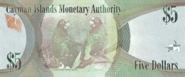 Cayman Islands P.39  5 Dollars  2010   Unc - Iles Cayman