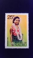 Nauru 1973 Jeune Femme Young Woman Yvert 98 ** MNH - Nauru