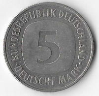 Germany Federal Republic 1989D 5 Marks [C701/2D] - [ 7] 1949-… : FRG - Fed. Rep. Germany