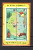 SWAZILAND Carte N° BF02 Neuf** Cote 5€ - Swaziland (1968-...)