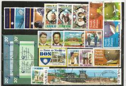 ISOLA NAURU (Oceano Pacifico) Lotto Di 25 Francobolli Annullati.1a Scelta, Tutti Di Grandi Dimensioni,tutti Diversi.24 € - Francobolli
