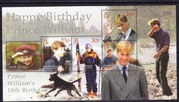 South Georgia 2000 Prince William's 18th Birthday M/s ** Mnh (41261B) - Zuid-Georgia