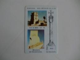 Descobrimentos Discovers Edições Marialva Lisboa Portugal Portuguese Pocket Calendar 1989 - Calendars