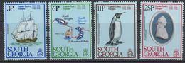 South Georgia 1979 Capt. James Cook's Voyages 4v ** Mnh (41262) - Zuid-Georgia
