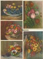 Carte Pro Juventute, Bouquet De Fleurs Par Olga Derendinger-Roux (5x 807) 10x15 - Flowers