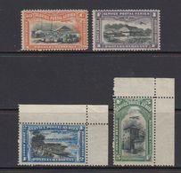 Belgisch Congo 1921 Luchtpost 4w ** Mnh (enkele Lichtbruine Schaduwen Op Gom, Zie Scan) (41263) - Belgisch-Kongo