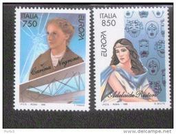 CEPT Berühmte Frauen / Famous Women Italien 2432 - 2433 ** Postfrisch, MNH, Neuf - Europa-CEPT
