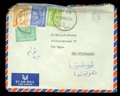 Saoedi-Arabië * Saudi Arabia * BRIEF  1959 By Air Mail  RYAD Naar DEN HAAG NEDERLAND   (11.454y) - Saoedi-Arabië