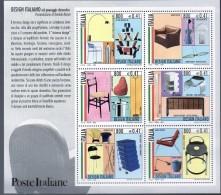 """PIA  -  ITALIE  -  2000 :  IL """"Design Italiano""""  -     (SAS  Bf 26 ) - Blocchi & Foglietti"""