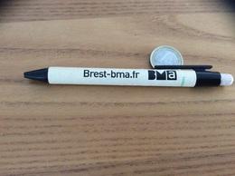 """Stylo """"Brest-bma.fr"""" ( Bois Et Plastique) - Advertising"""