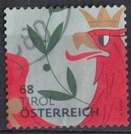 Autriche 2017 Oblitéré Used Armoiries Tirol Coat Of Armes Blason Du Tyrol - 1945-.... 2nd Republic