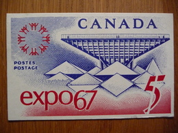 CANADA MAXIMUMCARD EXPO 67 - Maximumkaarten