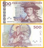 Sweden 500 Kronor P-66c 2012 UNC - Suède