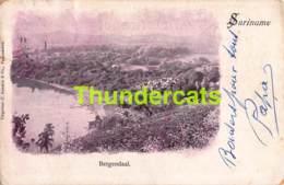 CPA SURINAME BERGENDAAL - Surinam