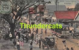 CPA JAMAICA JUBILEE MARKET SQUARE KINGSTON TRAM - Jamaïque