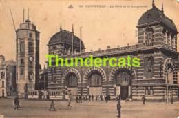 CPA 59 DUNKERQUE LE MINK ET LE LEUGHENAER TRAM - Dunkerque