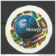 "FR Adhesif YT 17 (3140) "" Coupe De Monde Football "" 1998 Neuf** - France"