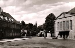 Hanau, Stadthalle Und Stadtbibliothek, Ca. 60er Jahre - Hanau