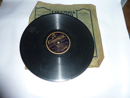 Disque 78 T Gramophone Phonographe Columbia - Georges Milton - 78 T - Disques Pour Gramophone