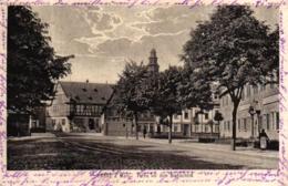 Hanau, Partie Vor Dem Stadtschloss, Feldpost 1915 - Hanau