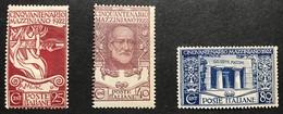 1922 Cinquantenario Mazziniano, Serie * Nuovi Con Linguella - 1900-44 Victor Emmanuel III