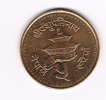 &  NEPAL  5 RUPEES  1994 ( 2051 ) - Nepal