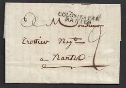 1816 - LAC GUYANE FRANÇAISE - Colonies Par Nantes - Cayennes Ver Nantes . TB - 1801-1848: Précurseurs XIX