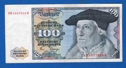 All  100  Mark  1980 - [ 7] 1949-… : RFA - Rép. Féd. D'Allemagne