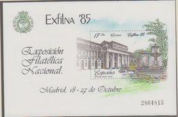 Spain 1985 Exfilna M/s ** Mnh (41284H) - Blocs & Feuillets