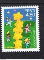 CEPT Sternenturm Estland 371. MNH Postfrisch ** - 2000