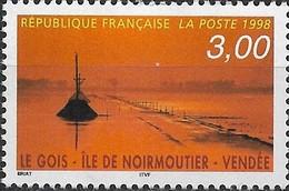 FRANCE 1998 Tourist Publicity - 3f Le Gois Causeway, Noirmoutiers Island MNH - Frankreich